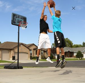 Suitable Portable Basketball Hoop 44 inch Impact Outdoor Sports for Sale in Henderson, NV