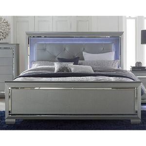 Queen bed / led lights / chest / dresser / drawers / frame / bedroom set / night light for Sale in Colton, CA
