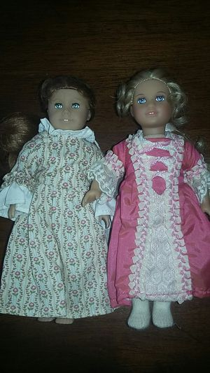 American Girl Doll 8 Inch Mini Elizabeth & Felicity Set for Sale in Costa Mesa, CA