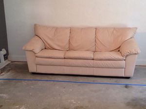 Natuzzi Leather Sofa & Recliner for Sale in Saint Petersburg, FL
