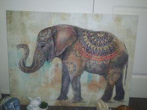 Hot sale!!! Big elephant wall decor with all elephant figure for Sale in Tacoma, WA