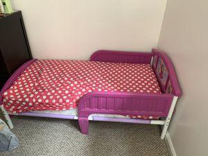 Toddler princess frozen bed for Sale in North Miami Beach, FL