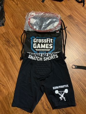 CrossFit Equipment - Snatch shorts, 2018 Games Bag, Speed Rope replacements for Sale in Haymarket, VA