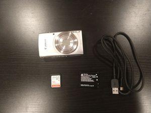 Canon PowerShot ELPH 180 Digital Camera + 32GB ScanDisc Ultra-Plus memory card for Sale in San Diego, CA