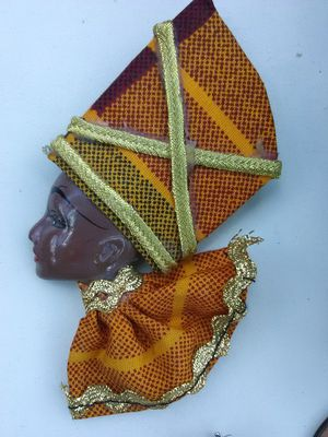 African Queen Brooch for Sale in Washington, DC
