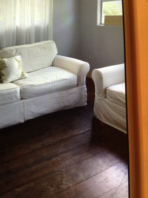 Sofa bed and armchair for Sale in Fort Pierce, FL