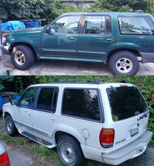 (2) Ford Explorers for One Price - Both Rund and Drive for Sale in Vancouver, WA