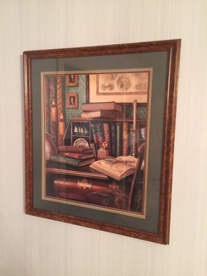 """Nice framed in glass wall art 29""""x33"""" for Sale in Pontotoc, OK"""