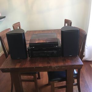 Stereo & Record Player + Speakers - Sony / Audio Technica / Insignia for Sale in Fairfield, CA