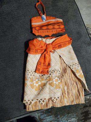 Disney moana costume for Sale in Mesa, AZ