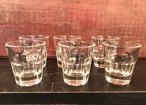 6 Glass Fernet Shot Glasses for Sale in Cleveland, OH