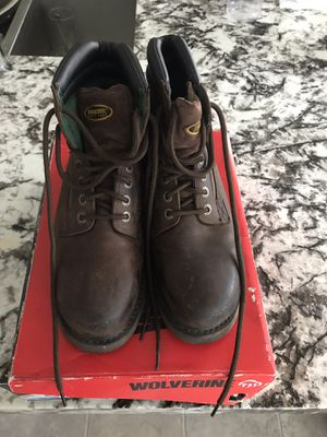 Wolverine steel toe work boots for Sale in Irvine, CA