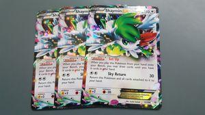 Shaymin EX x3 Set Pokemon Cards for Sale in Phoenix, AZ