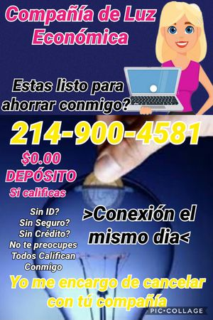 Luz económica for Sale in Houston, TX