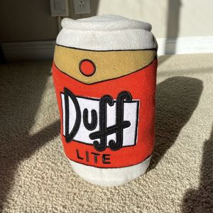 Duff Beer Stuffed Pillow for Sale in Colma, CA