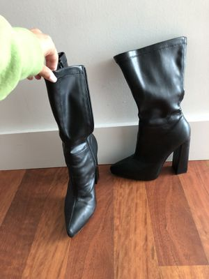 Nasty gal black boots for Sale in Miami, FL