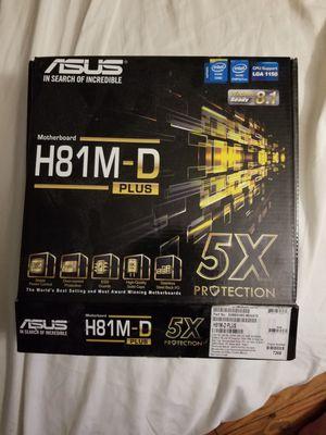 ASUS H81M-D Plus motherboard for Sale in Crewe, VA
