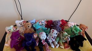 Collectible Beanie Baby bear lot of 18 for Sale in Fort Lauderdale, FL