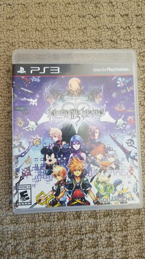 Kingdom Hearts 2.5 HD Remaster PS3 for Sale in Tracy, CA