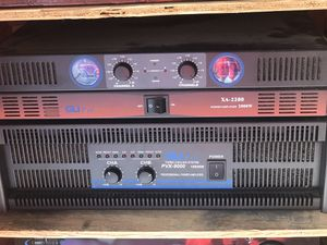 2 Power Amps for sale for Sale in Queens, NY