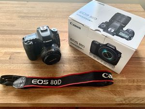 Canon 80d with 50mm 1.4 lens for Sale in Phoenix, AZ