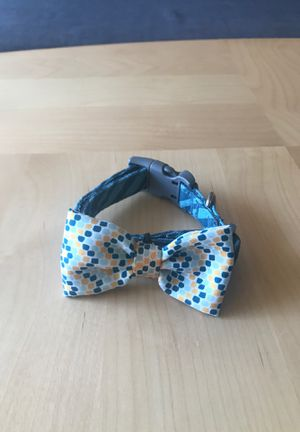 Small dog collar w/bow tie for Sale in Manassas, VA