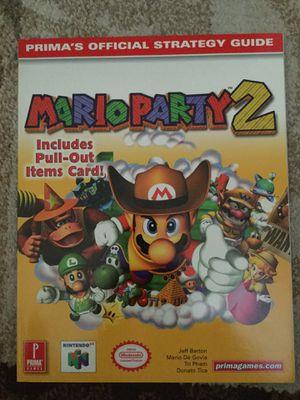 Prima Mario Party 2 players guide for Sale in Everett, WA