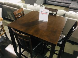Bar Height 5 Piece Dining Table Set Sale for Sale in Portland, OR