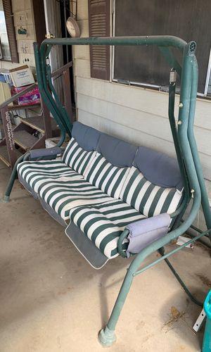 Porch swing w/ canopy for Sale in Phoenix, AZ