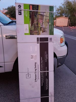 2-Seat Sling Canopy Porch Swing for Sale in Glendale, AZ