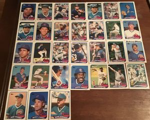 1989 Topps Chicago Cubs Cards for Sale in Wichita, KS