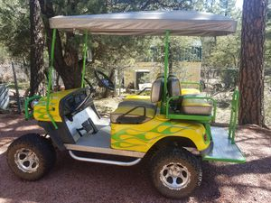 2005 gas powered golf cart for Sale in Pine, AZ