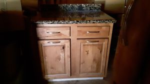 Kitchen cabinets, countertop, sink for Sale in Lakeside, AZ