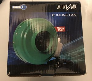 "Hydrofarm Hydroponic Active Air 6"" In-line Fan+ ACSC Dan Speed Controller for Sale in Detroit, MI"