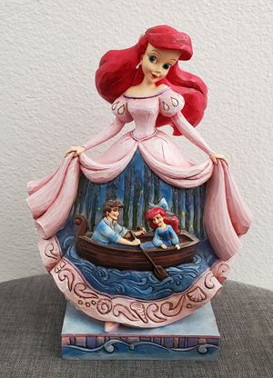 Disney The Little Mermaid Twilight Serenade Ariel & Eric Statue Jim Shore Showcase collection for Sale in Placentia, CA