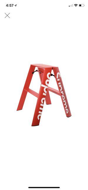 Supreme Lucano Step Ladder Red for Sale in Gardena, CA