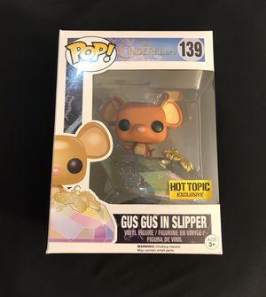 Funko Disney Cinderella Pop! Gus Gus In Slipper Vinyl Figure Hot Topic Exclusive for Sale in Fountain Valley, CA