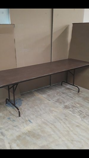 Table 8 foot x 30 in for Sale in North Providence, RI