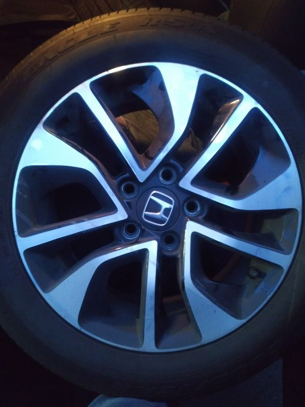 Set of Four :16 inch Rims and Tires