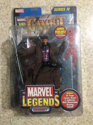 Gambit (X-Men) Marvel Legends Series IV Action Figure by Toy Biz for Sale in Orlando, FL