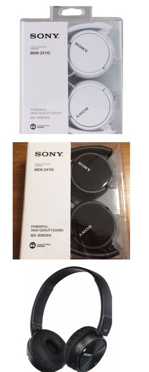 Sony Stereo high Quality Headphones padded and powerful for Sale in Irving, TX