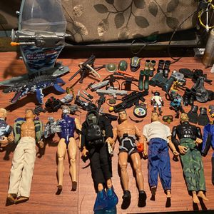 Hasbro And Mattel G.I. Joe Action Figure Toys for Sale in Franklin, NJ
