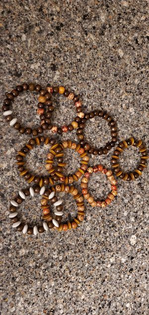 Beautiful Wood Beads Bracelets for Sale in Windermere, FL