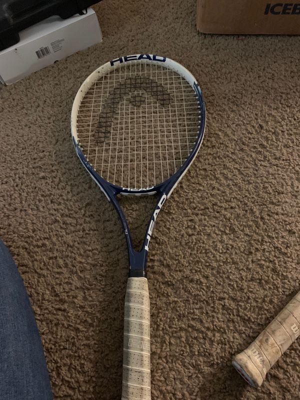 Wilson triumph and head ti.instinct comp tennis rackets