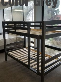 Twin bunk beds. 3 colors to choose from. Bunk beds come in a box. Assembly not included in price. Price includes tax and delivery. Cash only. Colo for Sale in Walnut,  CA