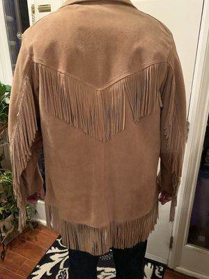 Leather Fringe Coat for Sale in Jamestown, NC