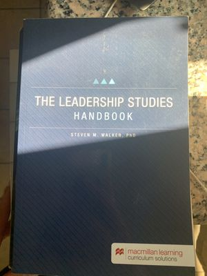 Leadership Studies handbook for Sale in San Jose, CA