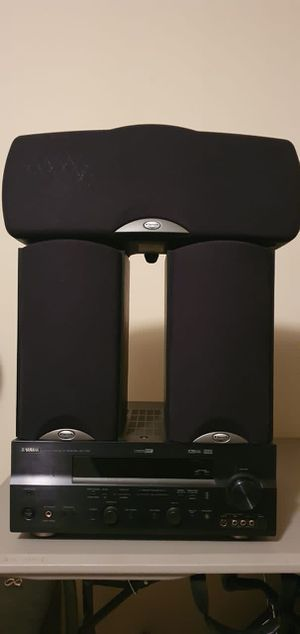 Yamaha receiver +Klipsch Speakers +Center for Sale in Cedar Park, TX