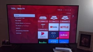 """50"""" TCL Series 5 Roku TV with HDR and Dolby Vision for Sale in Greeley, CO"""