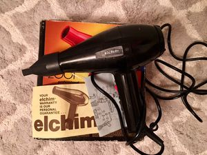 Elchim 2001 High-pressure Hair Dryer with original packaging &manual for Sale in Tampa, FL